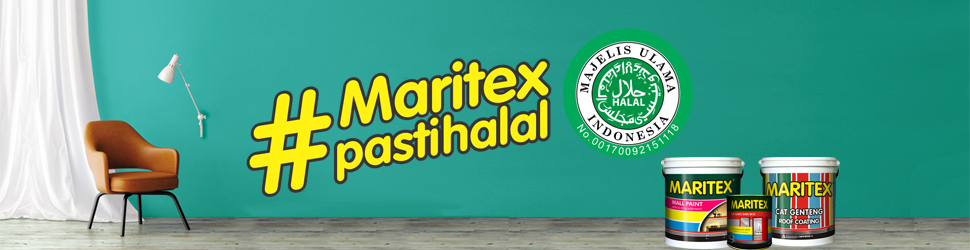 Cat Tembok Maritex Pasti Halal