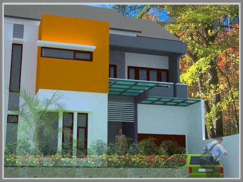 Kombinasi Warna Cat Gedung  paduan kontras untuk fasade yang menakjubkan edupaint
