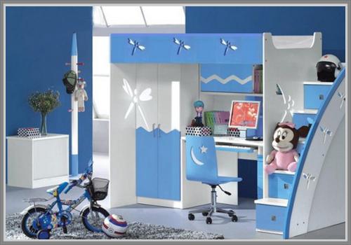 Warna Biru Untuk Kamar Anak Laki-Laki - Edupaint