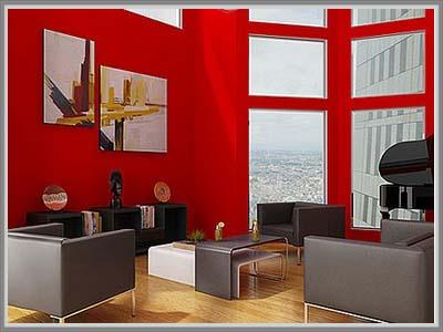 sentuhan modern minimalis di ruang tamu | nindyadesign