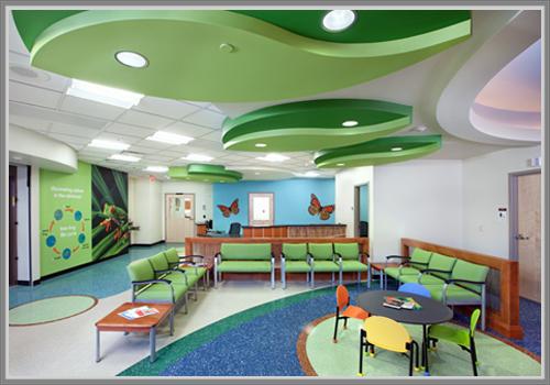 Desain Ruang Tunggu Anak Yang Menarik