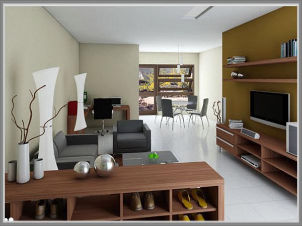 Desain Ruang Tamu Sekaligus Ruang Keluarga Di Rumah Ukuran Sempit 0b4b735bfc