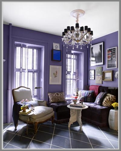 Menampilkan Desain Ruang Tamu Menarik Dengan Paduan Warna