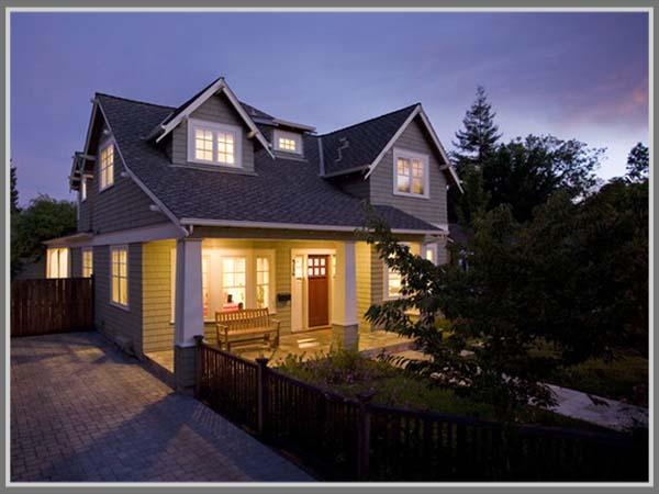 Desain Rumah Bergaya Country