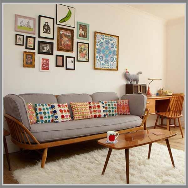 Ruang Tamu Vintage Bagaimanapun Terkait Dengan Orang Orang Yang Secara Sosial Tidak Konvensional Terutama Orang Yang Berjiwa Seni