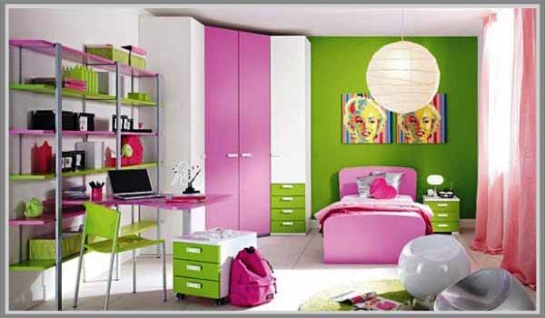Warna Utama Hijau Untuk Kamar Tidur Feminim Edupaint
