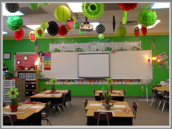 Warna Hijau Untuk Ruang Kelas Yang Nyaman Edupaint