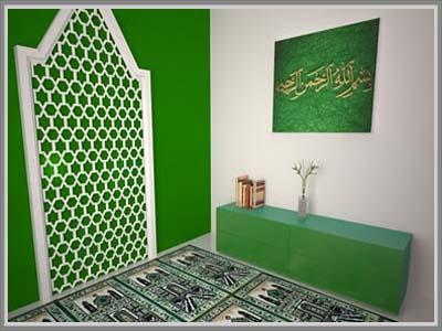 ide desain mushola di rumah anda