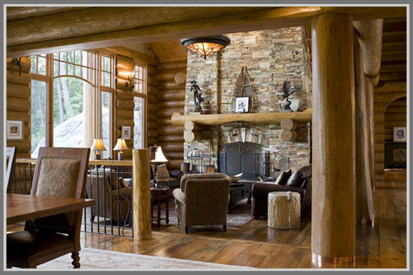 Meskipun Terletak Di Daerah Hijau Pedesaan Arsitektur Hunian Bergaya Country Ala Amerika Juga Tetap Mampu Menyimpan Desain Interior Rustic Yang