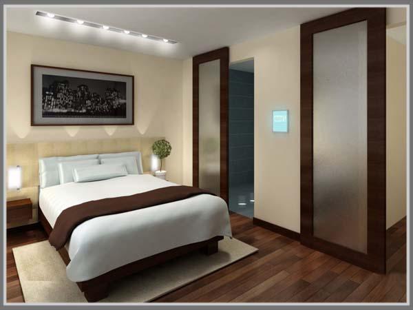 Konsep Kamar Hotel Dengan Gaya Minimalis Edupaint
