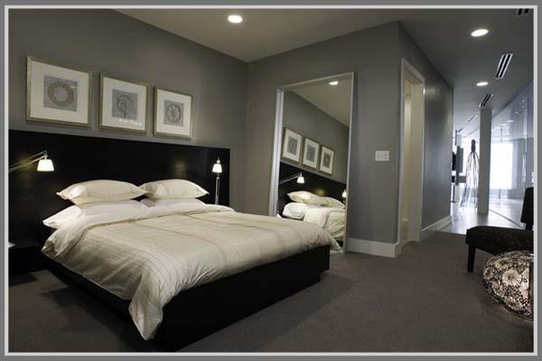 desain kamar tidur bernuansa elegan