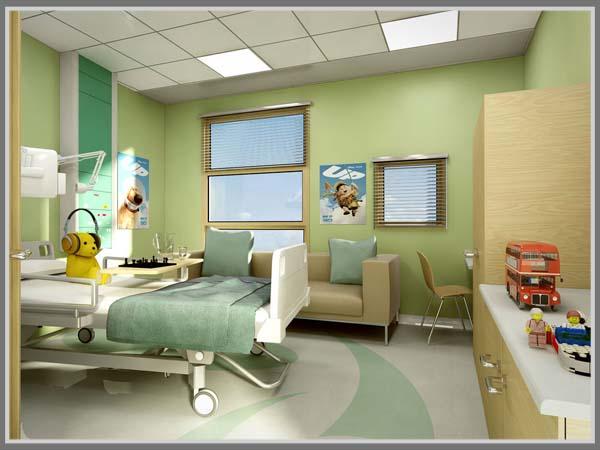 Hijau Pas Untuk Desain Warna Ruang Rawat Inap Rumah Sakit