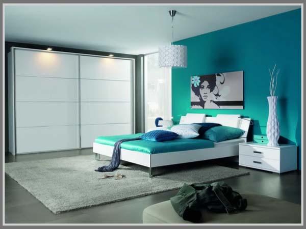 warna untuk kesan ketenangan di kamar tidur