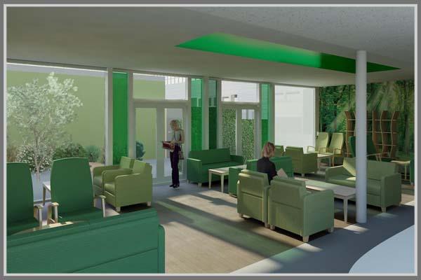 Mendesain Ruang Tunggu Rumah Sakit Yang Nyaman