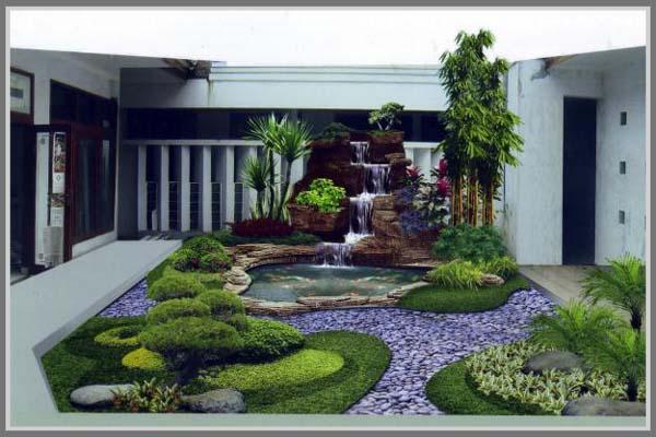 Batu Alam Untuk Taman Rumah Edupaint