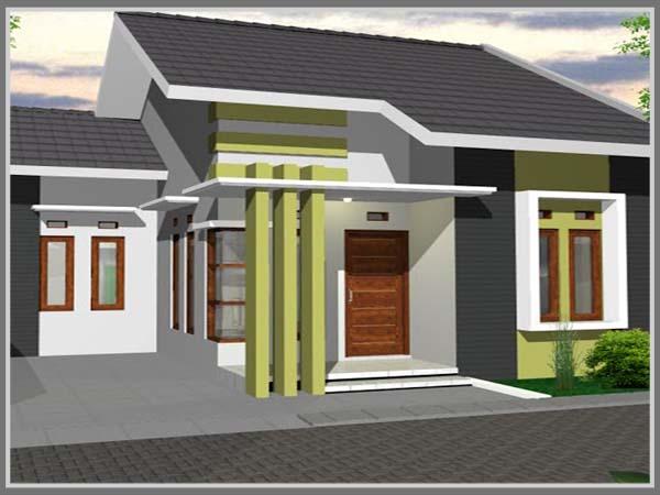 Kombinasi Warna Cat Rumah Kuning  warna rumah minimalis modern edupaint