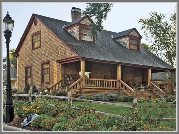 Desain Rumah Gaya Country Amerika