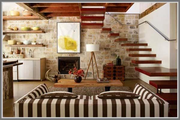 Biasanya Interior Gaya Rustic Ini Berada Di Rumah Yang Bergaya Country Tapi Tidak Hanya Juga Dapat Dipadupadankan