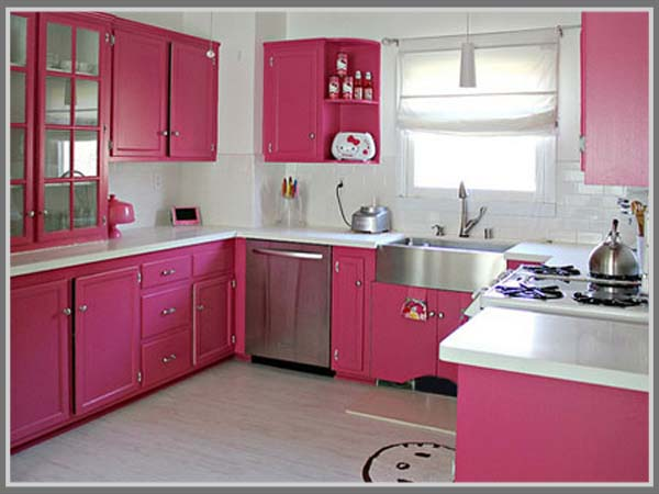 Dapur Warna Pink