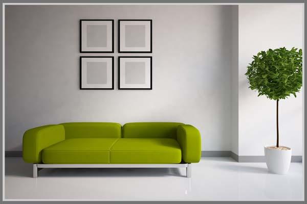 warna cat rumah hijau putih desain rumah