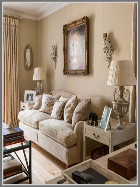 Desain Ruang Keluarga Dengan Nuansa Hangat