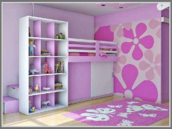 Warna Di Kamar Tidur Minimalis Anak Perempuan