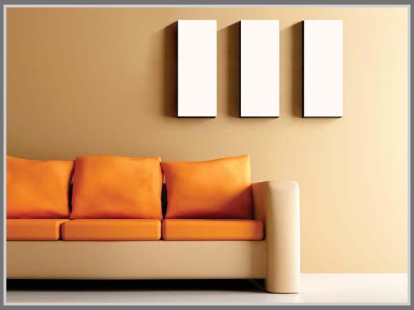paduan warna ruang tamu