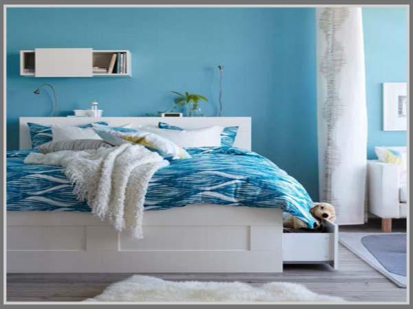 5 pilihan warna untuk kamar tidur