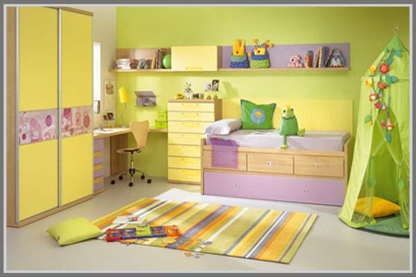 Inspirasi Warna Desain Kamar Tidur Anak