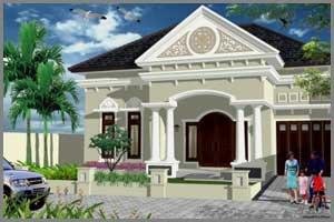 Desain Warna Untuk Rumah Klasik - Edupaint