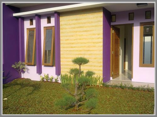 Ungu Yang Anggun Untuk Fasade Rumah Anda Edupaint