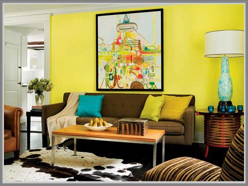 Ciptakan Kehangatan Yang Ceria Dengan Panduan Warna Kuning Di Ruang Tamu