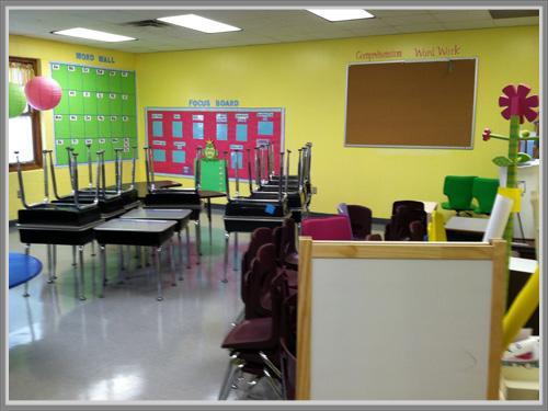Kuning Untuk Ruang Kelas Yang Penuh Semangat