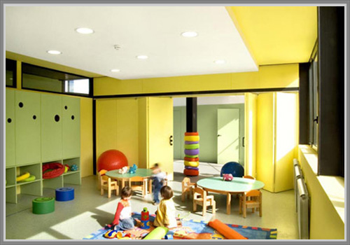 Warna Cerah Untuk Ruang Kelas Sekolah Dasar Yang Menyenangkan