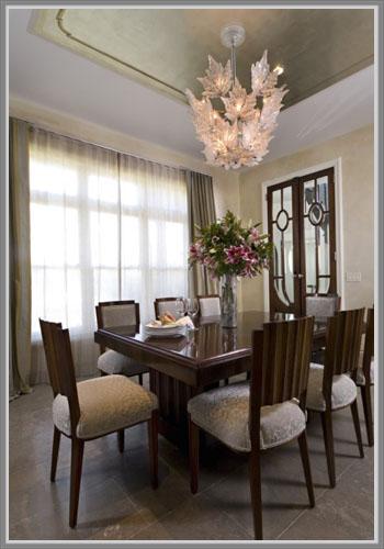 Ruang Makan Berdesain Art Deco Yang Indah