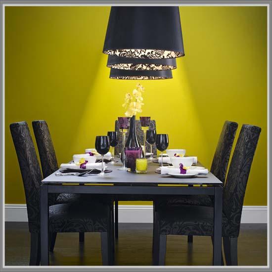 Lebih Menyenangkan Dengan Balutan Warna Kuning Di Ruang Makan ...