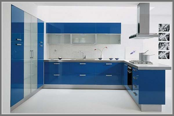 Menata Ulang Dapur Untuk Kenyamanan Dengan Warna Biru - Edupaint