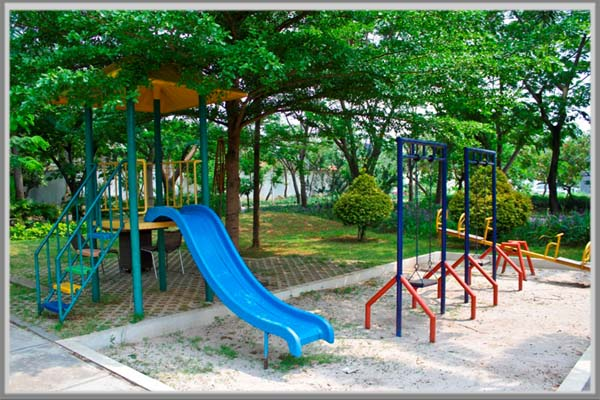 Taman Bermain Dukung Kreatifitas Anak - Edupaint