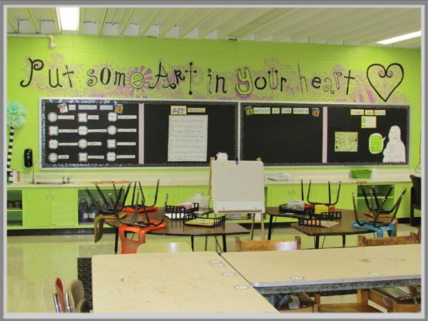 Warna Pas Untuk Ruang Kelas