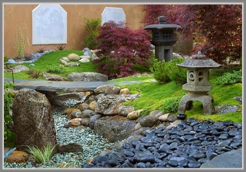 Desain Oriental Taman Bergaya Jepang - Edupaint