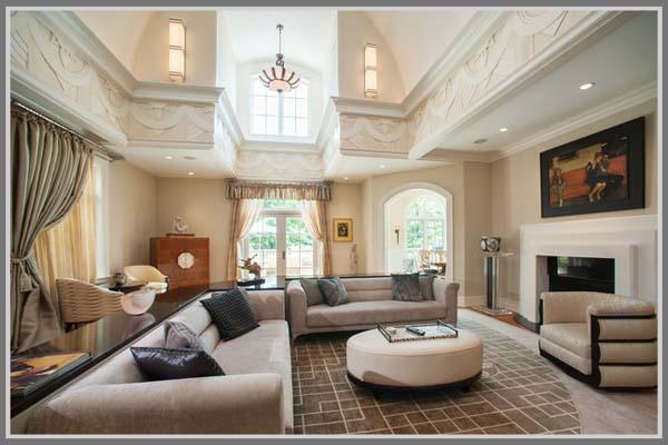 Menghadirkan Nuansa Art Deco Di Ruang Tamu