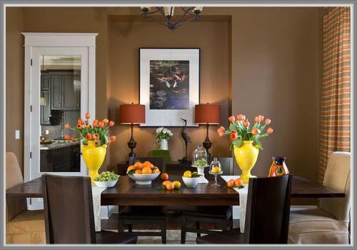 Lebih Indah Dan Nyaman Dengan A Art Deco Di Ruang Makan