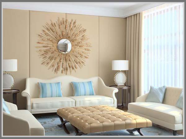 Misalnya Sofa Warna Krem Berpadu Single Chair Dan Coffee Table Abu Tua Tampak Selaras Terlihat Nyaman Untuk Bagian Lantai Sebaiknya Gunakan