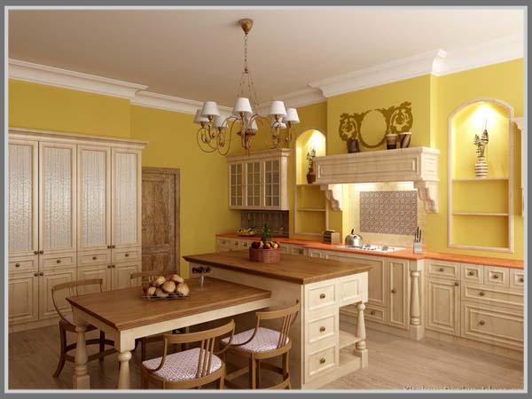 Lebih Bersemangat Di Dapur Warna Kuning