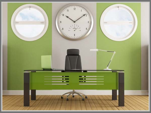 Warna Hijau Untuk Kesan Segar Penuh Semangat Di Kantor