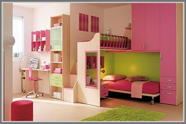 Kamar Tidur Anak Perempuan Minimalis Edupaint