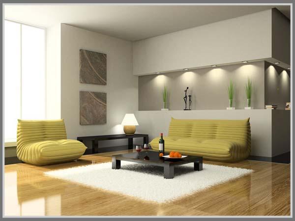 Desain Ruang Tamu Bergaya Minimalis