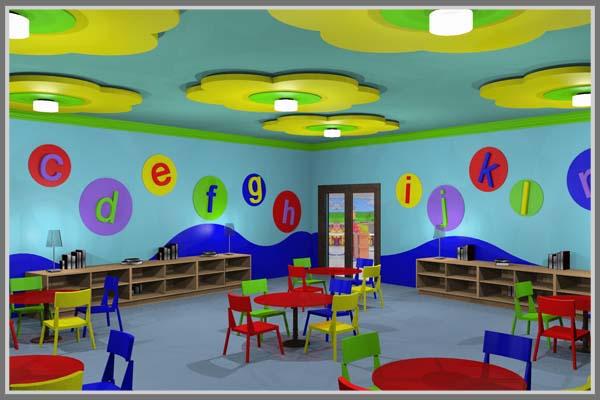 Desain Sekolah TK Yang Menyenangkan