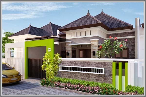 Warna Pagar Rumah Edupaint