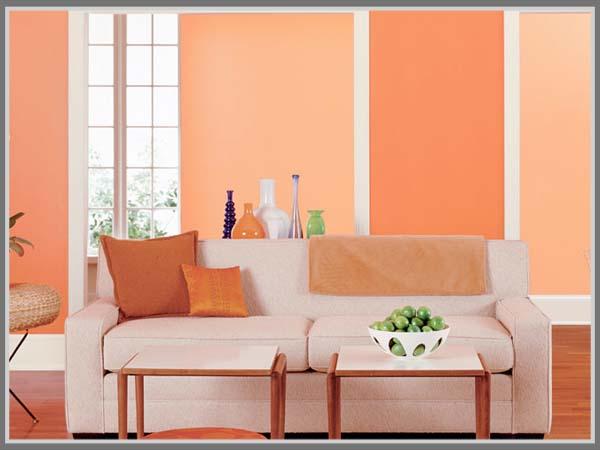 Paduan Warna Oranye Untuk Keindahan Rumah